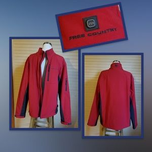 NWOT Free Country Soft Shell Athletic Jacket